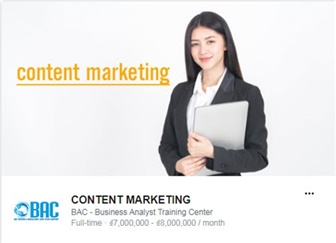 Tuyển dụng - Content Marketing